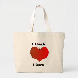 I Teach, I Care Tote Bag