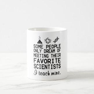 I Teach Mine Science Teacher Coffee Mug