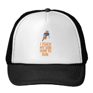 I Teach My Son How To Run Great Gift Trucker Hat
