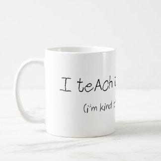 I Teach Tiny Humans Mug (teacher)