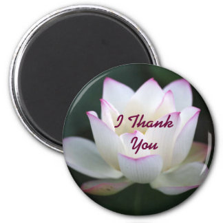 I Thank You 2 Inch Round Magnet