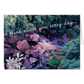 """""""I think about you every day..."""" Greeting Card"""