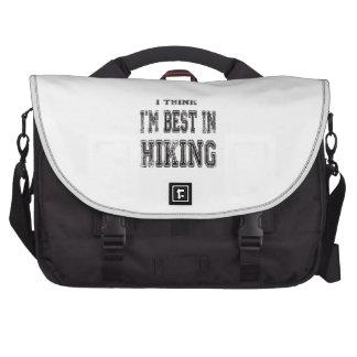 I Think I m Best In Hiking Laptop Bag