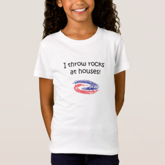 I Throw Rocks T-Shirt