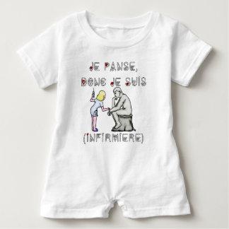I thus bandage I am (Nurse) - Word games Baby Romper