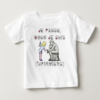 I thus bandage I am (Nurse) - Word games Baby T-Shirt