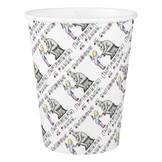 I thus bandage I am (Nurse) - Word games Paper Cup