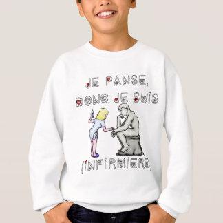 I thus bandage I am (Nurse) - Word games Sweatshirt