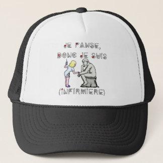 I thus bandage I am (Nurse) - Word games Trucker Hat