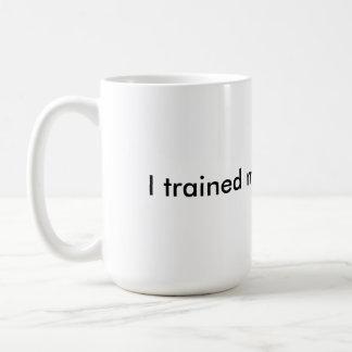 I trained my brain to win - insulated coffee mug
