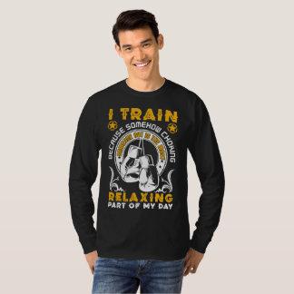 I Tran Because Somehow Choking T-Shirt