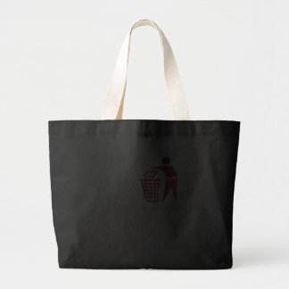 I trash IE6 Jumbo Tote Bag