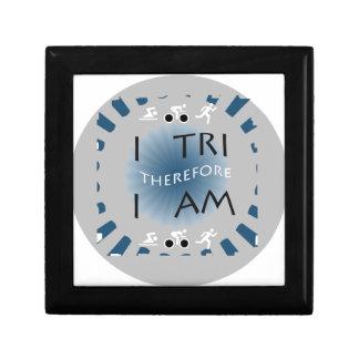 I Tri Therefore I am Triathlon Gift Box