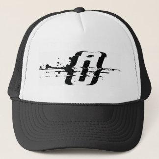 {i} trucker hat