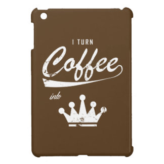 I Turn Coffee Into KOMs iPad Mini Cases