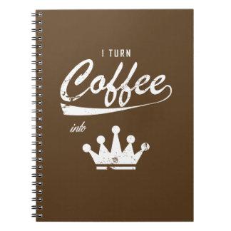 I Turn Coffee Into KOMs Notebook