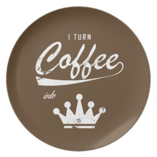 I Turn Coffee Into KOMs Plate