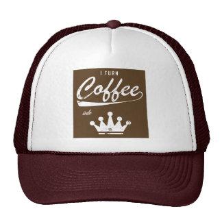I Turn Coffee Into KOMs Trucker Hat