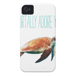 I turtally adore you Case-Mate iPhone 4 cases
