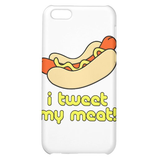 I Tweet My Meat Cover For iPhone 5C