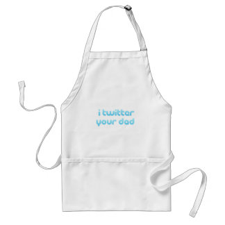 I twitter your Dad Standard Apron