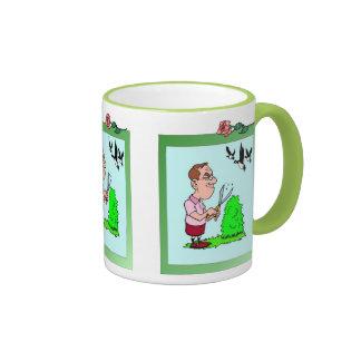 I used to be a hairdresser ringer coffee mug