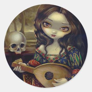 """""""I Vampiri:  Il Liuto"""" Sticker"""