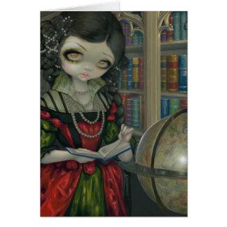 """""""I Vampiri: La Libreria"""" Greeting Card"""