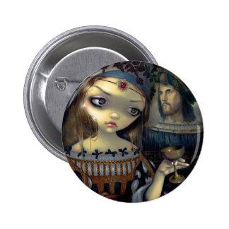 """I Vampiri:  Lucrezia Borgia"" Button"