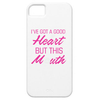 I've got a good heart but this mouth iPhone 5 covers