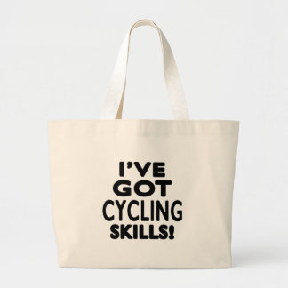 I ve Got Cycling Skills Canvas Bags