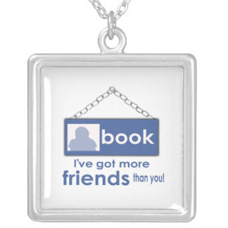 I ve Got More Friends Than You F_Book Necklace