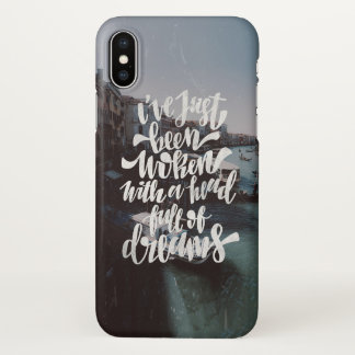I´ve Just been woken iPhone X Case