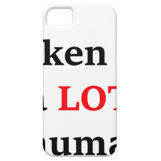 I've spoken to a lot of humans iPhone 5 case