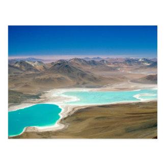 I visited Laguna Verde in Bolivia! Postcard