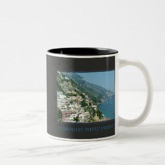 I Visualize What I Want Mug