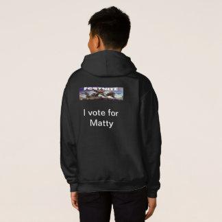 I vote for