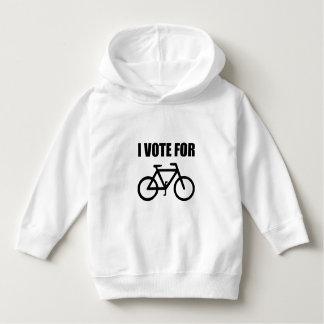 I Vote For Bicycle Hoodie