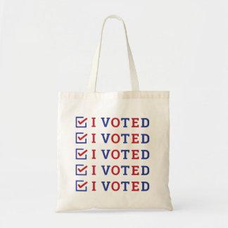 I Voted checkmark
