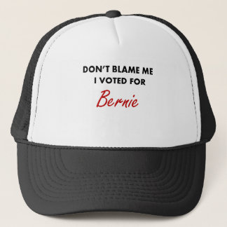 I Voted for Bernie Apparel Trucker Hat
