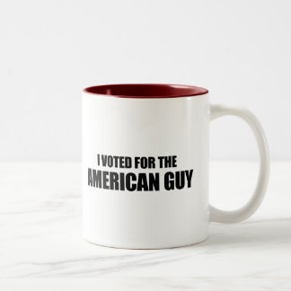 I voted for the American Guy Two-Tone Coffee Mug