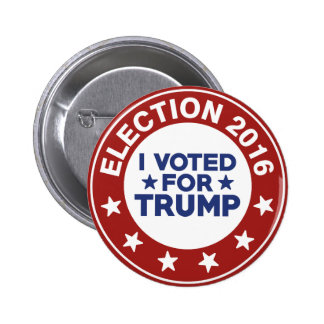 I Voted For Trump 2 Inch Round Button