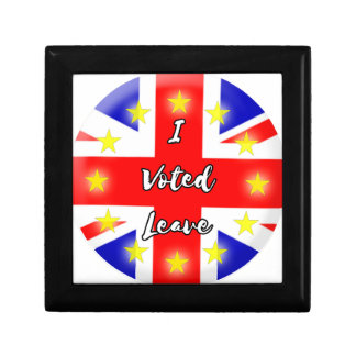 i voted leave trinket box