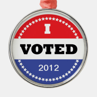 I Voted Ornament