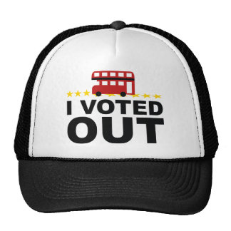 I Voted OUT Trucker Hat