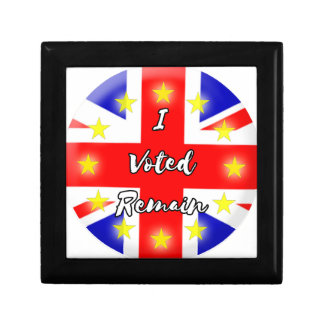 I voted Remain History Gift Boxes