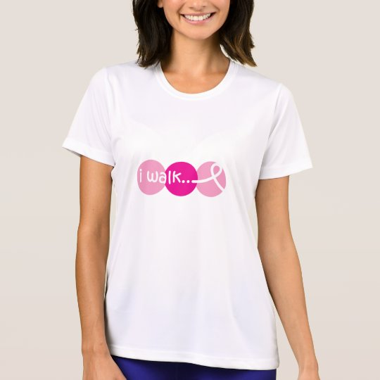 I Walk - Breast Cancer Awareness T-Shirt