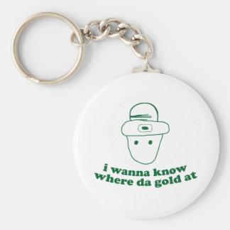 i wanna know where da gold at keychains