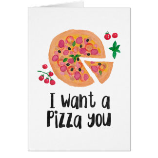 I want a pizza you card