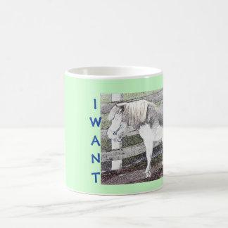I Want A Pony! Mug